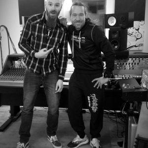 Martin mit Andy von Tankard