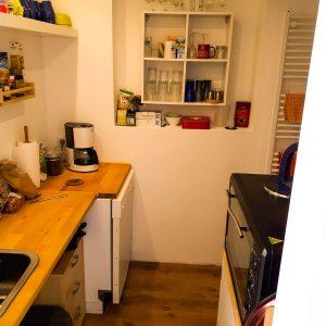 Gernhart Studio Unterkunft Küche 2